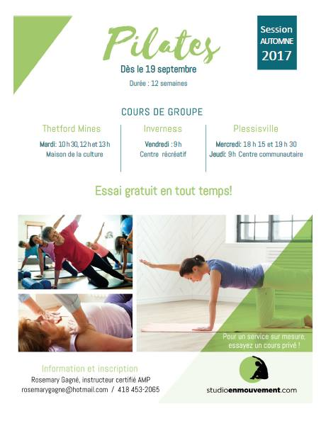 session automne 2017